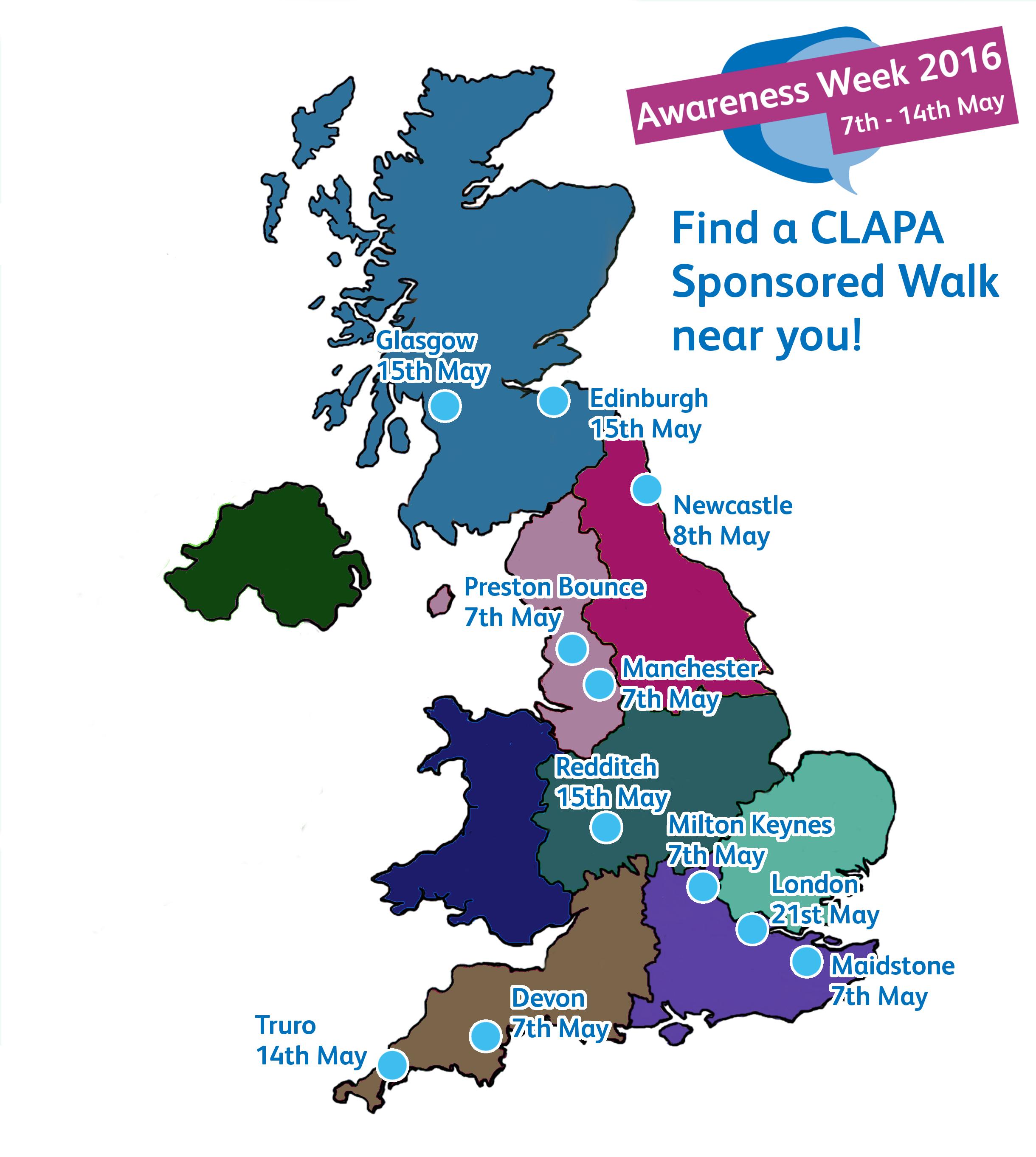 Walks Map
