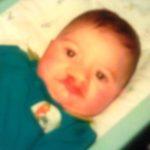 Adam, as a baby, fundraising fridya