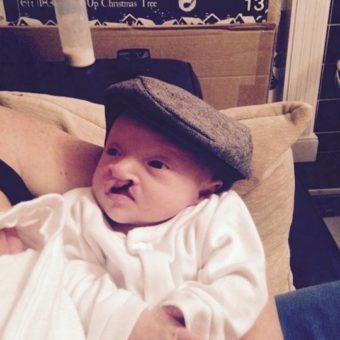 Fletcher in another littler hat