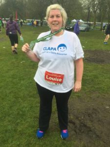 Louise Fundraising Friday 2 Medal