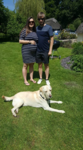 Phil Catton, Sarah and dog Barney #FF