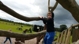 Briarlands Scotland Family Day ominous weather