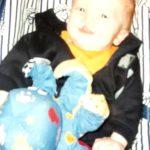 Ben as a baby